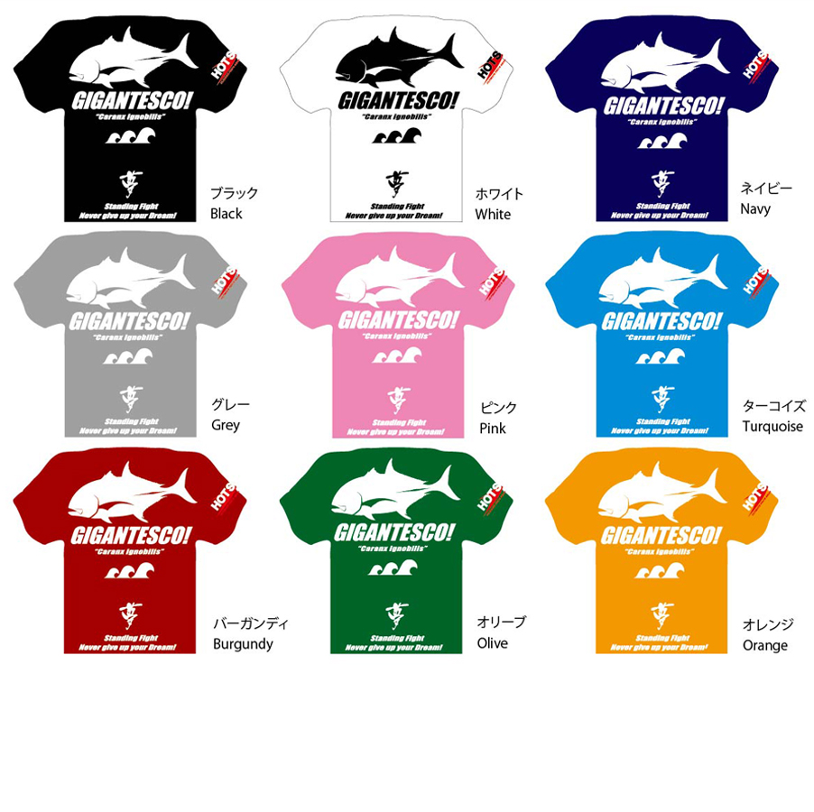ドライTシャツ Dry T-shirt GT Version